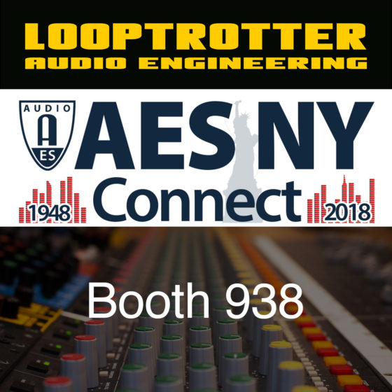 We are debuting at AES in New York City!