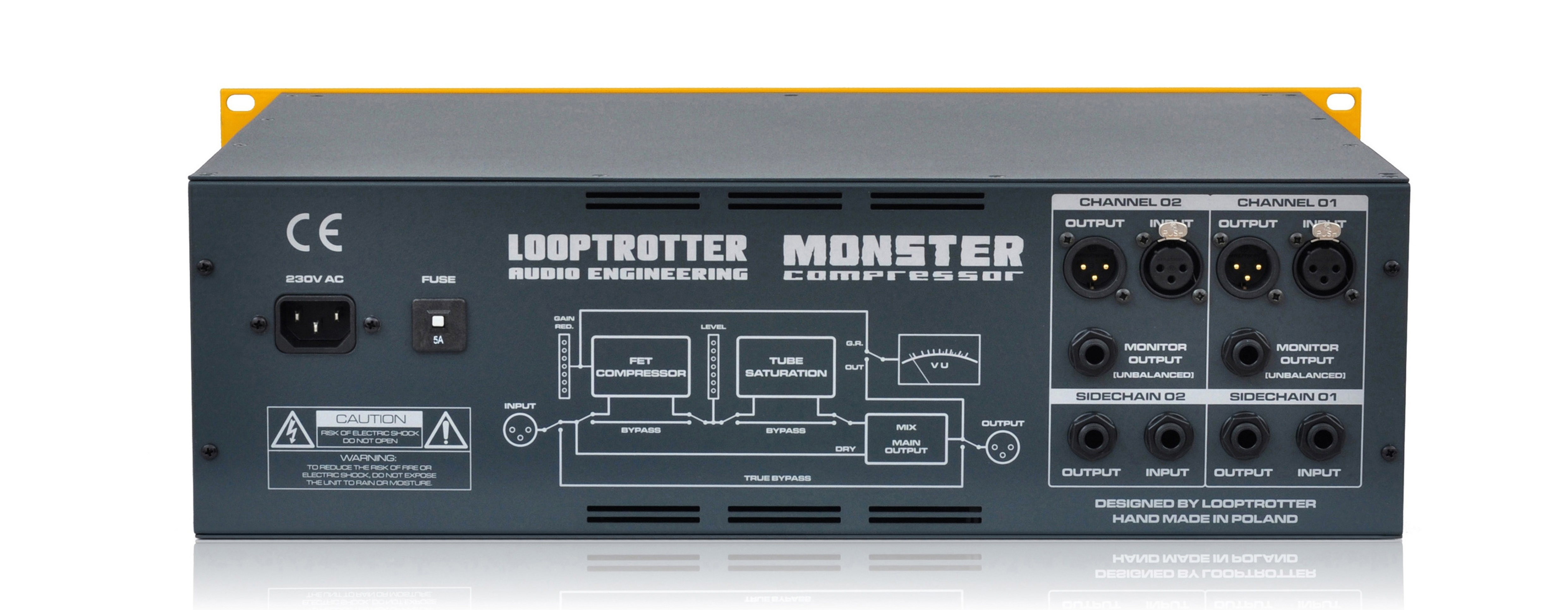 Monster Compressor Looptrotter Integrated Circuits History Quality For It Was Designed To Complement The Soulless Super Clean Digital Technology Compression Module Evens Signal In A Very Musical Way