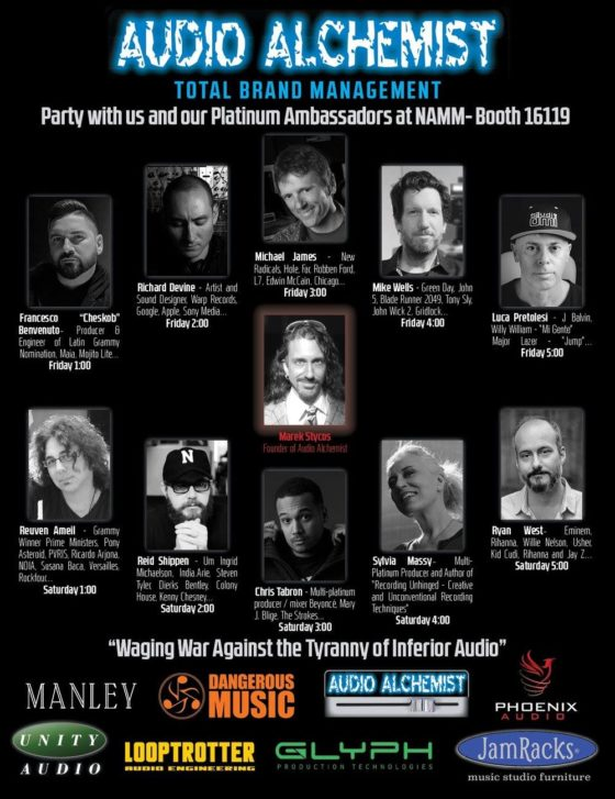 Get ready for the NAMM Show!!!