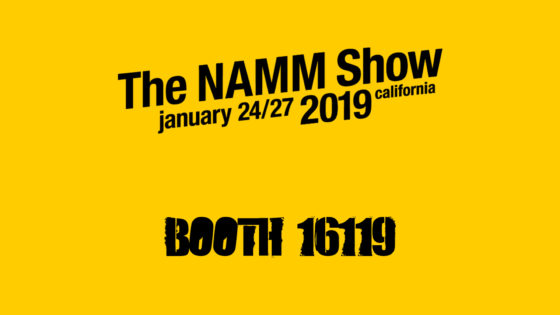 NAMM Show! We are here!!! Booth 16119