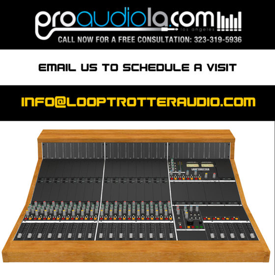 Pro Audio LA first to carry Looptrotter Modular Console in U.S.